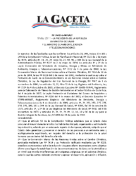 Reglamento Gestión Ambiental Institucional
