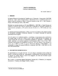 Características Pasto Mombaza (Panicum maximum Jacq)