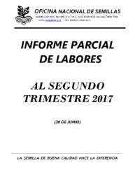 Informe Labores-Primer Avance 2017