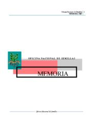Memoria Institucional Año 2007