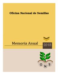 Memoria Institucional Año 2015