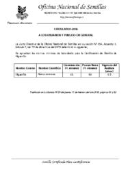 Normas Laboratorio para Higuerilla