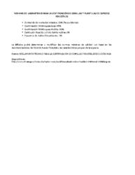Normas Laboratorio para Semilla Forestal