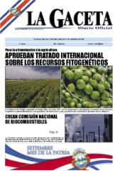 Aprobación Tratado Intern. Recursos Fitogenéticos