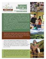 Informe Ejecutivo Dona Semillas – 2020