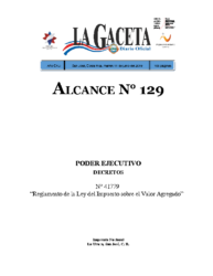 Reglamento Ley 9635