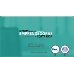 Present. Manual Emprendedores – MEIC 2019