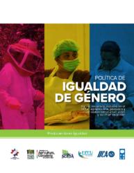 Política Igual de Género Sector Agro 2020-2030